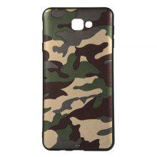 Army Green Camouflage Soft TPU Case for Samsung Galaxy J7 Prime / On7 2016