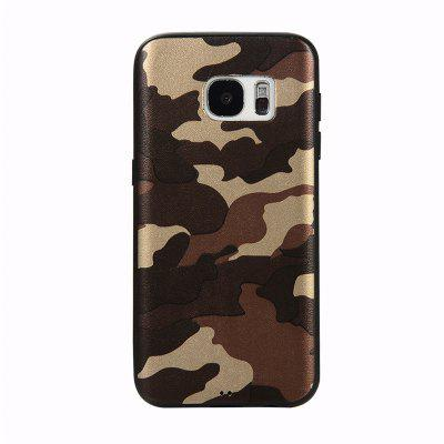 Army Green Camouflage Soft TPU Case for Samsung Galaxy S7