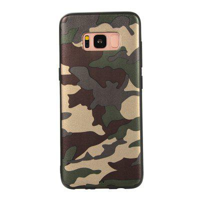 Army Green Camouflage Soft TPU Case for Samsung Galaxy S8