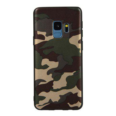 Army Green Camouflage Soft TPU Case for Samsung Galaxy S9