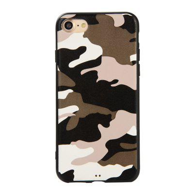 Army Green Camouflage Soft TPU Case for iPhone 7 / 8