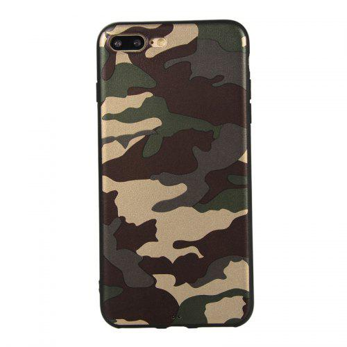 more photos 82174 628d0 Army Green Camouflage Soft TPU Case for iPhone 7 Plus / 8 Plus