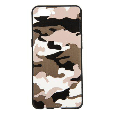 Army Green Camouflage Soft TPU Case for OPPO A3S / A5