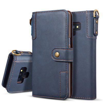 Cell Phone Leather Bracket for Samsung Galaxy Note 9 Leather Cover
