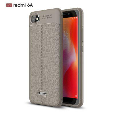 Para Redmi 6 Litchi Grain Phone Cover