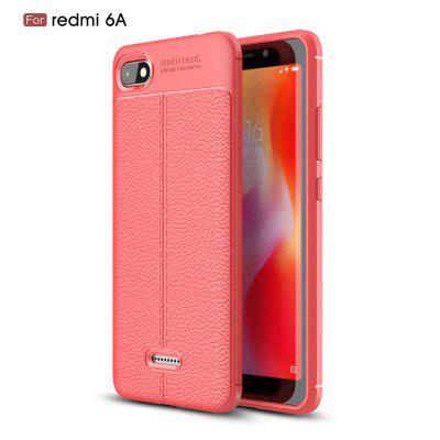 Pour RedmiA6 XLitchi Grain Phone Cover