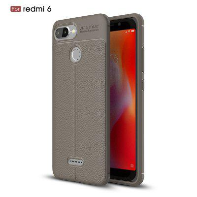 Pour Redmi6 Lichee Grain Phone Cover