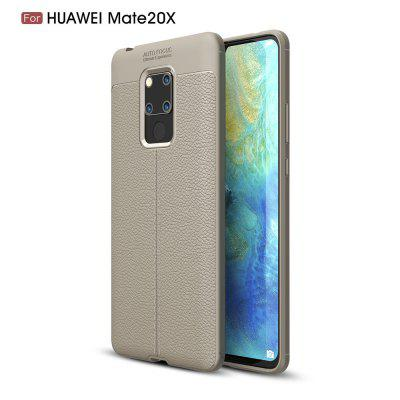 For HuaweiMate20x XLitchi Grain Phone Cover