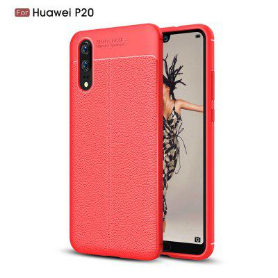 Pour Huawei P20 Lychee Grain Phone Cover