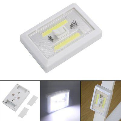 LED Night Lamp Battery operated Wall Light for Bathroom Closet Stairs With Magne