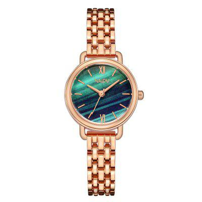 Women'S Fashion OL Trend Marble Steel Belt Quartz Watch