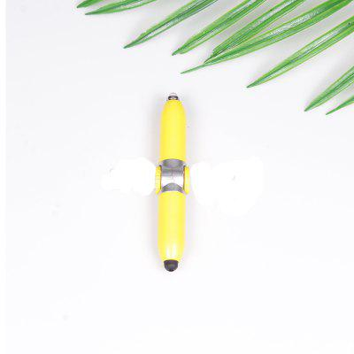 Multi-Function Fingertip Gyro LED Light-Emitting Touch Ball Pen