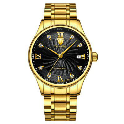 Stainless Steel Strap Calendar Automatic Mechanical Watch