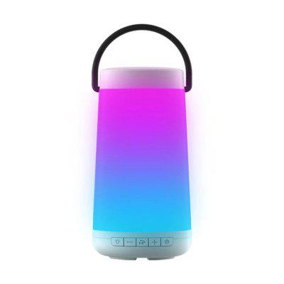 Portable Bluetooth Speaker Touch Control USB LED Night Light