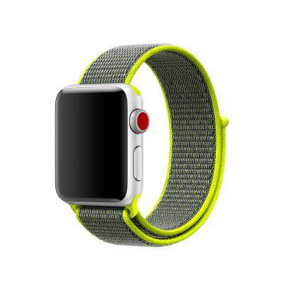 liedao For Apple Watch Series 3 2 1 42MM Band Woven Nylon Band Strap
