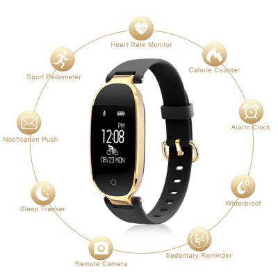 S3 Smart Bracelet Heart Rate Monitoring Is Applicable To IOS and Android Image