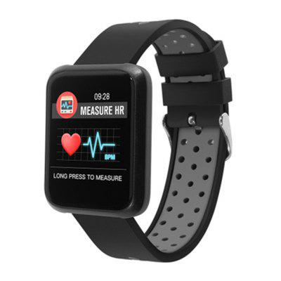Waterproof Sports Heart Rate and Blood Pressure Monitoring Smart Watch
