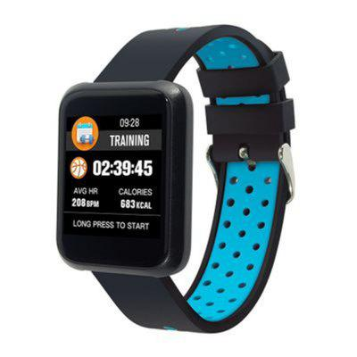 Waterproof Sports Heart Rate and Blood Pressure Monitoring Smart Watch Image