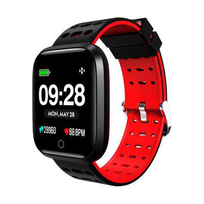 LEMFO Waterproof 2.5D Color Screen Heart Rate Monitoring Smart Bracelet Image