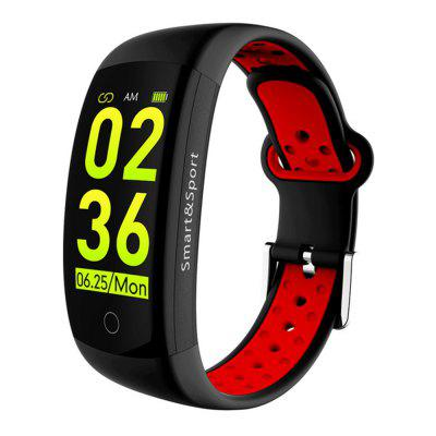 LEMFO Q6s Touch Color Screen Heart Rate Monitoring Waterproof Smart Bracelet Image
