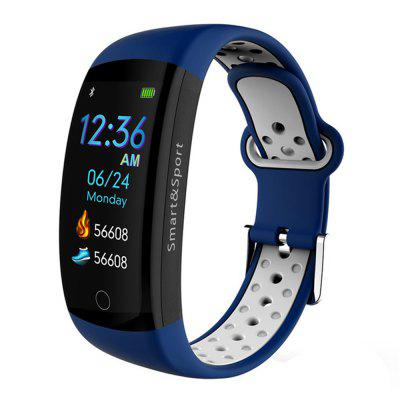 Q6s Touch Color Screen Heart Rate Monitoring Waterproof Smart Bracelet Image