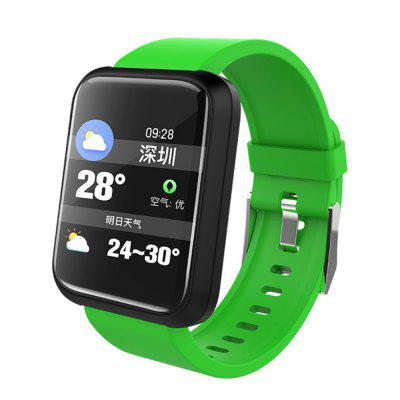 LEMFO SPORT3 Smart Waterproof Sports Band Heart Rate and Blood Pressure Watch