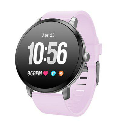LEMFO V11 Round Screen Waterproof Smart Bluetooth Heart Rate Meter Step Watch Image