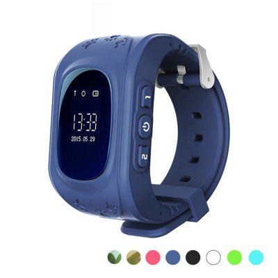 LEMFO Q50 Children'S Smart Watch SOS Calls GPS Positioning Tracking Image
