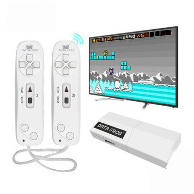 Data Frog Y2 USB Wireless Handheld TV Video Game  620 Classic AV Output