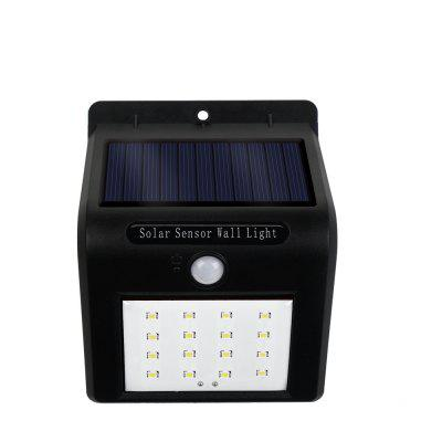 Wireless Waterproof 16 LED Security Motion Activated Sensor Solar Power Lights