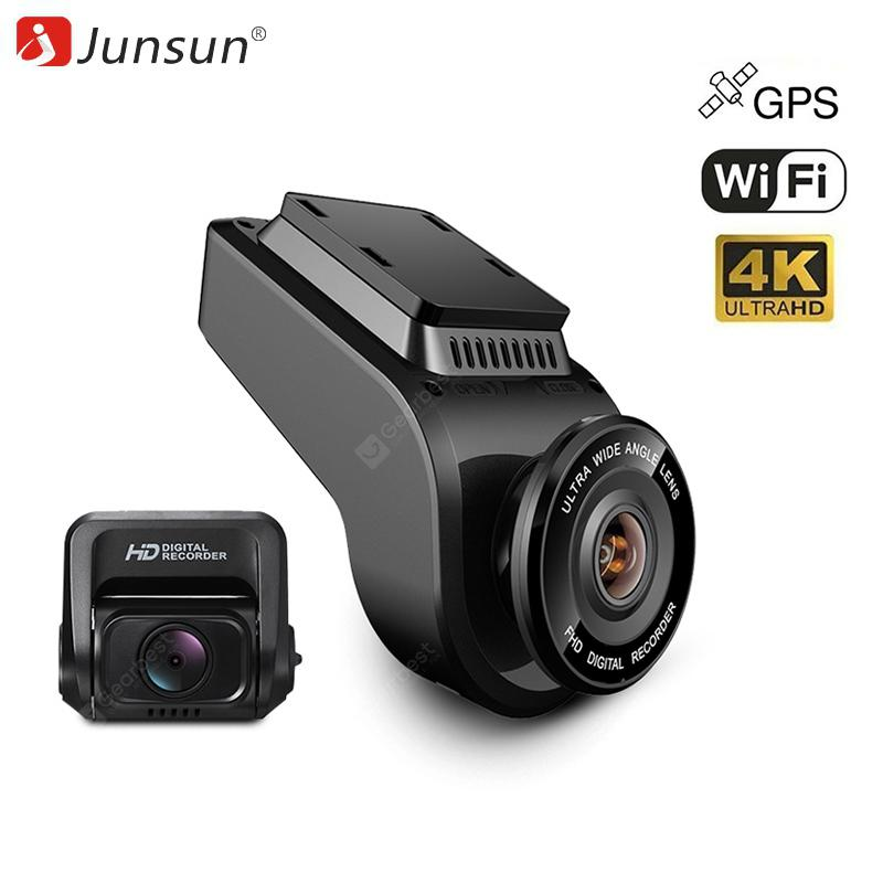 Junsun S590 Ultra HD WiFi Auto Dash Camera - Black 1pc