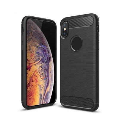 Do telefonu Iphone xs w wersji Carbon Fibre Brushed