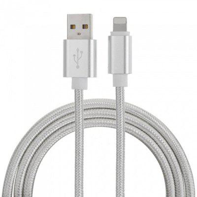 SZKINSTON Nylon Braided 8 Pin Male to USB3.0 Male Charging Sync USB Data Cable