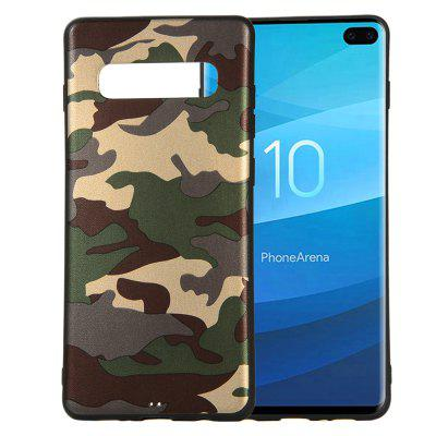 Camouflage Case for Samsung Galaxy S10 Plus Cases Soft TPU Silicon Back Cover
