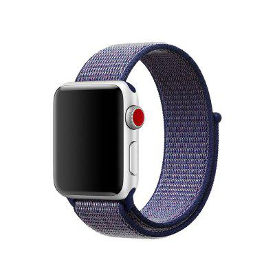 Liedao Pre hodinky Apple Watch Series 4 42MM Band Woven Nylon Band pásik