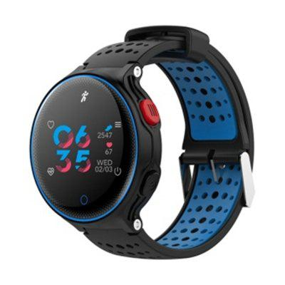 Microwear X2Plus Smart Watch IP68 Waterproof Keys for Health Monitoring