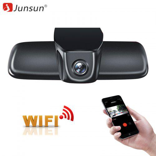 Gearbest Junsun S200 WiFi Car DVR Dash Camera Full HD 1080p Video Recorder - BLACK 1PC 406282801