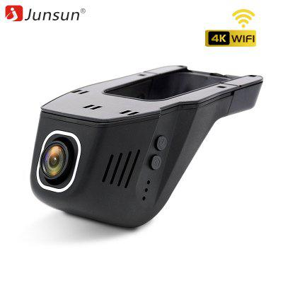 Junsun S690 4 Carat WiFi Car DVR Camera Novatek 96660 Universal Dashcam 2160P Image