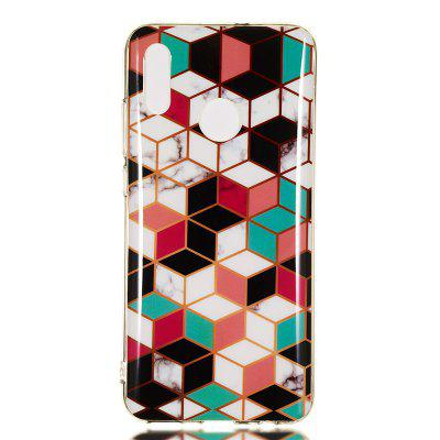 Candy Color Marble Soft TPU Phone Case for Huawei Honor 10 Lite