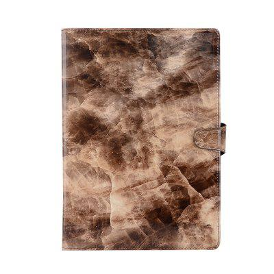 Magnetically Buckled Marble Sheath Flipped Flat Leather Sheath for Ipad Air
