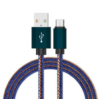 Micro USB Cable 1M Charge  Data Cable  Android Mobile Phone USB Charging
