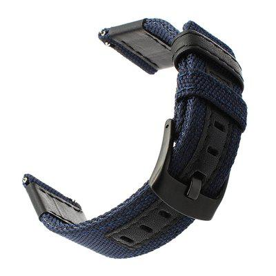 Bracelet de Montre en Cuir Nylon de Sports de 20MM pour AMAZFIT Bip Youth