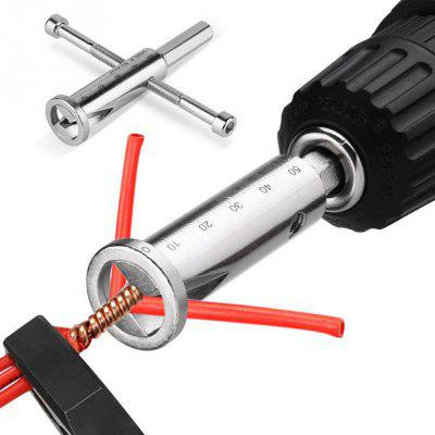 Wire Twisting Tool Wires Stripper Cable Connector Power Drill Driver