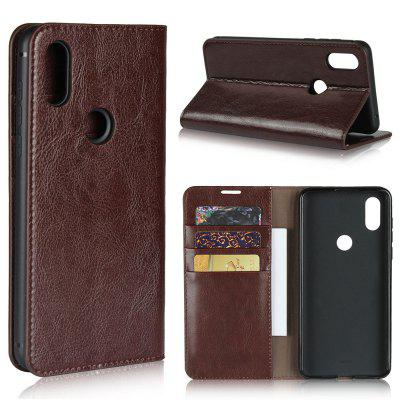 Genuine Leather Wallet Flip Case for Xiaomi Mix 3