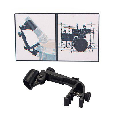 Microphone Pair Of Adjustable Stage Drum Clips