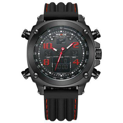 WEIDE Sports Men's Quartz LED Clock Military Outdoor Wrist Watches