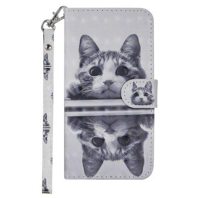 Cover for Huawei Maimang 6 Luxury 3D Painted Flip Wallet Phone Case