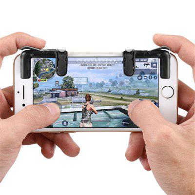 Minismile Smart Phone Controller Gaming Triggers Mobile Game Fire Button Aim Key (Clave de apuntar)