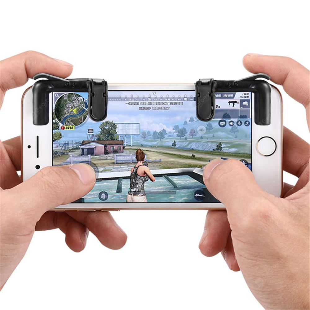Minismile Smart Phone Controller Gaming Triggers Mobile Game Fire Button Aim Key