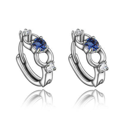 Fashion 18K Gold Plated Element Stud Earrings For Women